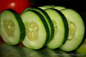 skin benefits of cucumber