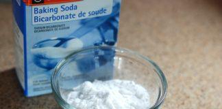Eco cleaner: baking soda!