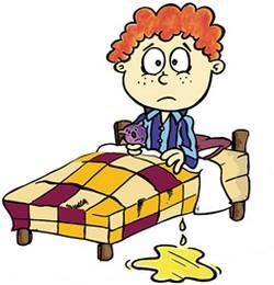 bedwetting children night urine