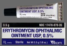 erythromycin ointment