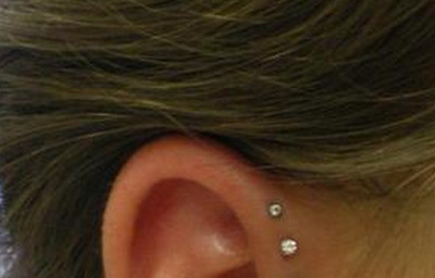 microdermal piercing-ear