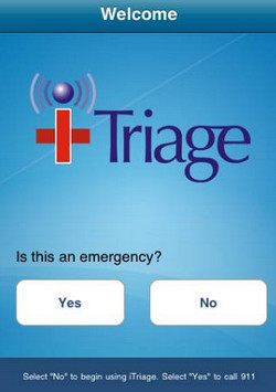 triage emergency apps