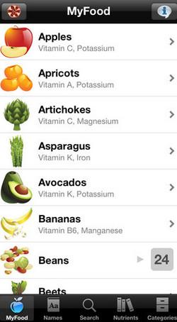 myfood app iphone