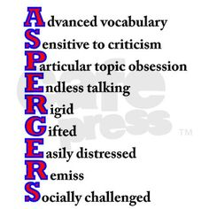 asperger's syndrome